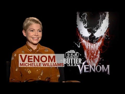Michelle Williams 'Venom' : Tom Hardy is a puppy dog  Extra Butter