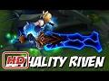 Pha Riven combo siêu thần thánh thành pentakill của siêu nhân liên minh huyền thoại 2017