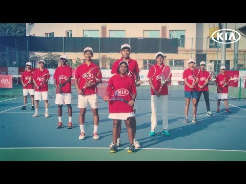 Kia India Ballkids at Australian Open - The Ace!