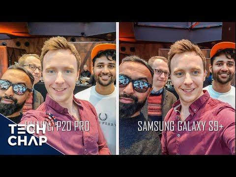 Huawei P20 Pro vs Samsung Galaxy S9 Plus - Camera Review! | The Tech Chap