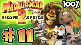 Madagascar Escape 2 Africa Walkthrough Part 11 (X360, PS3, PS2, Wii) 100% Level 10 - Wooing Gloria -