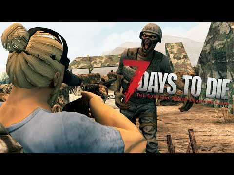 ARMY MAN | Let's Play 7 Days to Die Part 2 | Iron Tools - Night Vision Goggles | Alpha 16