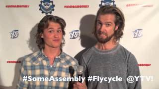 Dylan Playfair & Nils Hognestad are excited for SomeAssembly FLYCYCLE