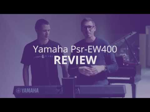 Review Teclado Yamaha PSR-EW400