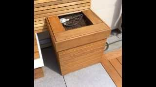 Custom Ipe Hardwood Planter Box - Poco Building Supplies