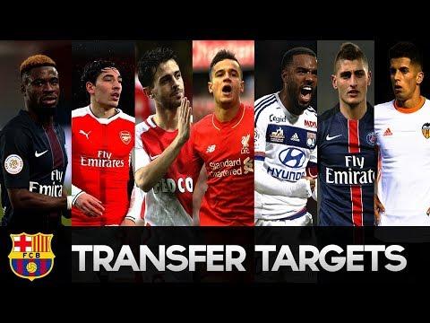 All Transfers Europe Football Teams Including 200M Neymar to PSG?