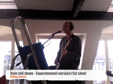 Rain fall down - The Rolling Stones cover by The Lonely Stone   (Bass backing track)