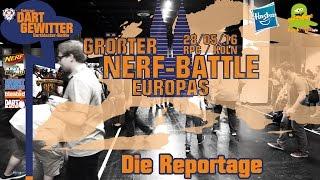 Role Play Convention 2016 - Der größte NERF Battle Europas