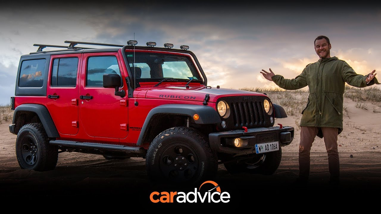 Hitting the beach in the 2017 Jeep Wrangler Unlimited Rubicon - Dauer: 7 Minuten, 53 Sekunden