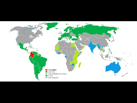 Países Sin Visa Para COLOMBIANOS