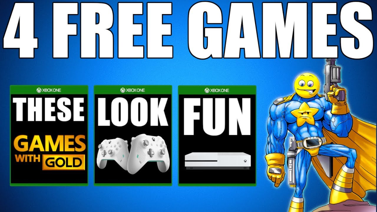 Xbox Games With Gold May 2019 4 Free Xbox One Games Xbox