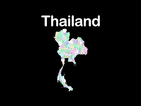 Thailand/Thailand Geography/Thailand Country