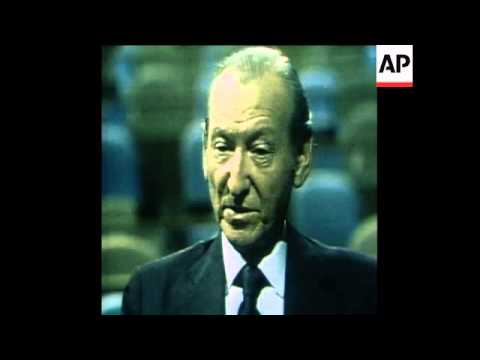 SYND 19 9 77 INTERVIEW WITH UNITED NATIONS SECRETARY GENERAL, KURT WALDHEIM