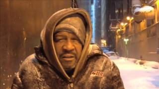 Repeat youtube video Facing the polar vortex and homeless in Chicago