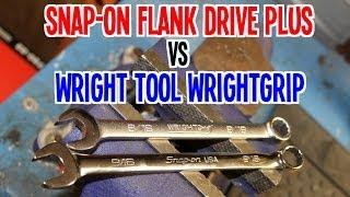 Snap-on VS Wright Tool (Flank Drive Plus VS WrightGRIP)