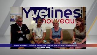 Yvelines | Nicole Alquier et Stéphane Michel, une candidature de droite indépendante du groupe EPY