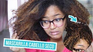 Mascarilla para el cabello seco - SOLO 3 INGREDIENTES!!!