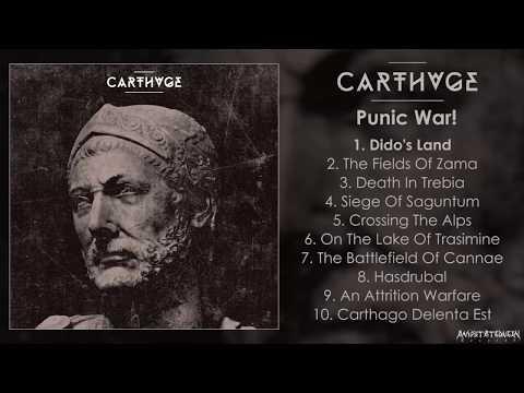 Carthage - Punic War! FULL ALBUM (2018 - Brutal Death Metal)