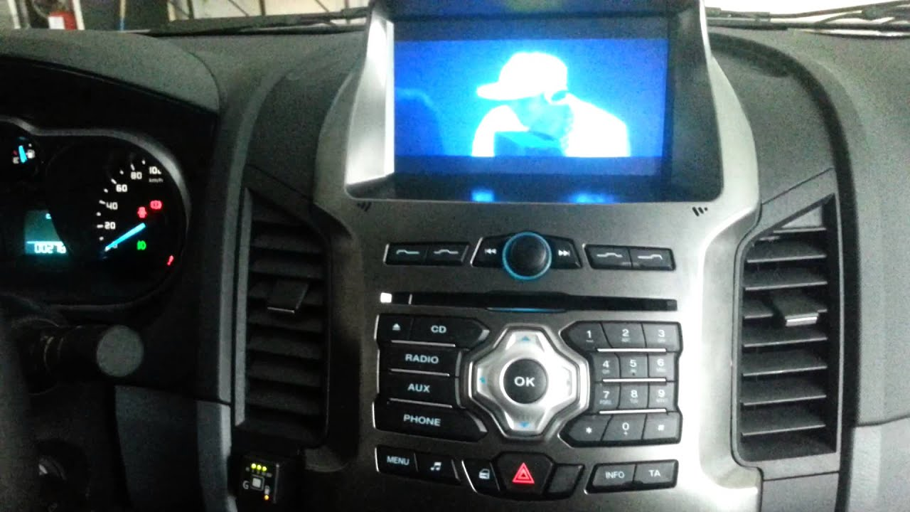Stereo Multimedia Para Ford Ranger Nueva Youtube