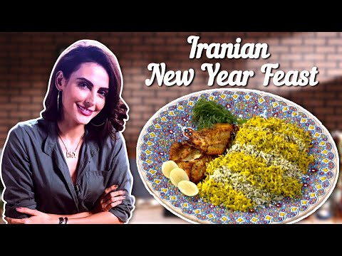 Iranian New YearFeast By MandanaKarimi| Iranian Food Recipe | Full Course Meal