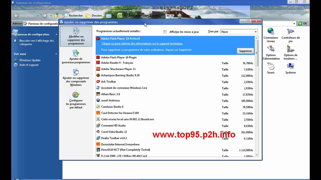 logiciel espion windows xp