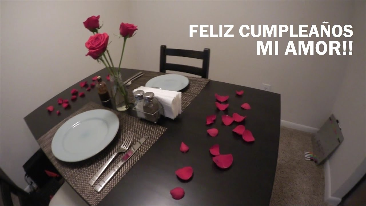 117 cena rom ntica en casa youtube for Cosas para decorar mi casa