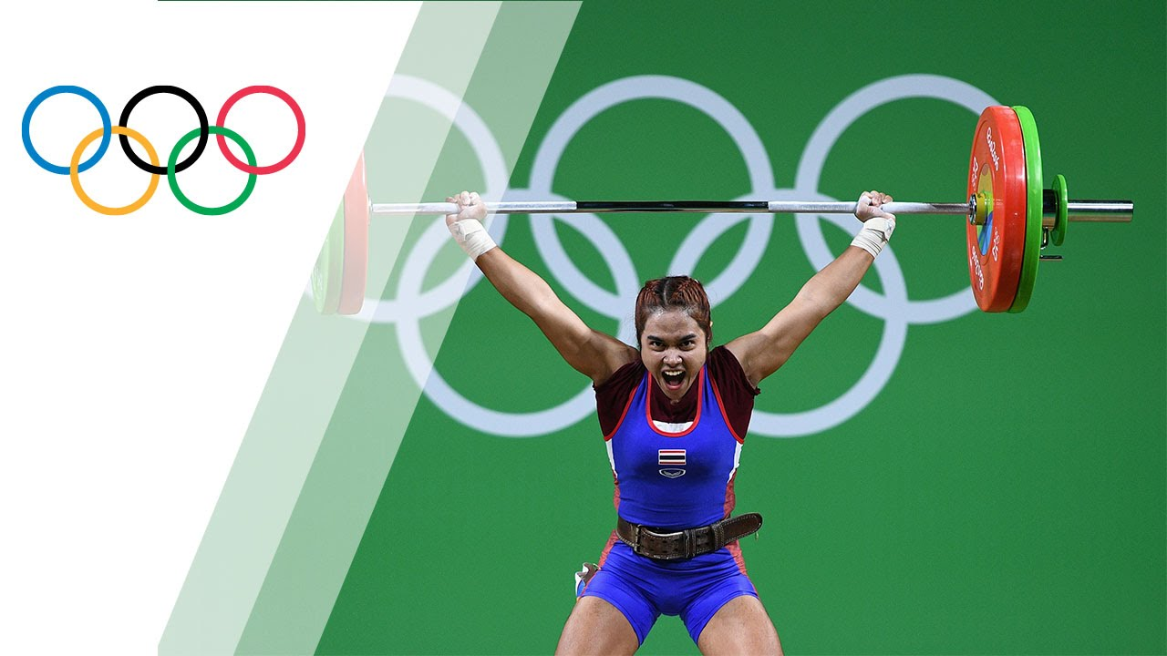 Thailand's Tanasan takes gold in Women's Weightlifting 48kg