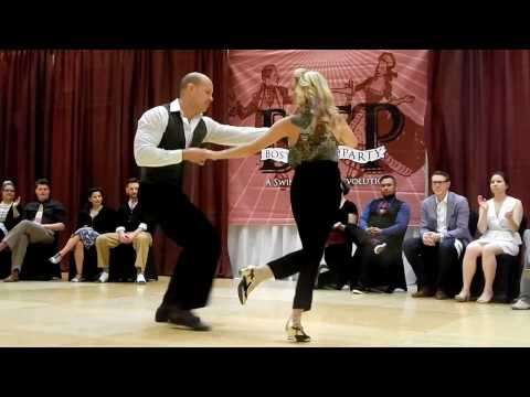 BTP 2017 Invitational Strictly SwingNick Williams and Nikki Marvin