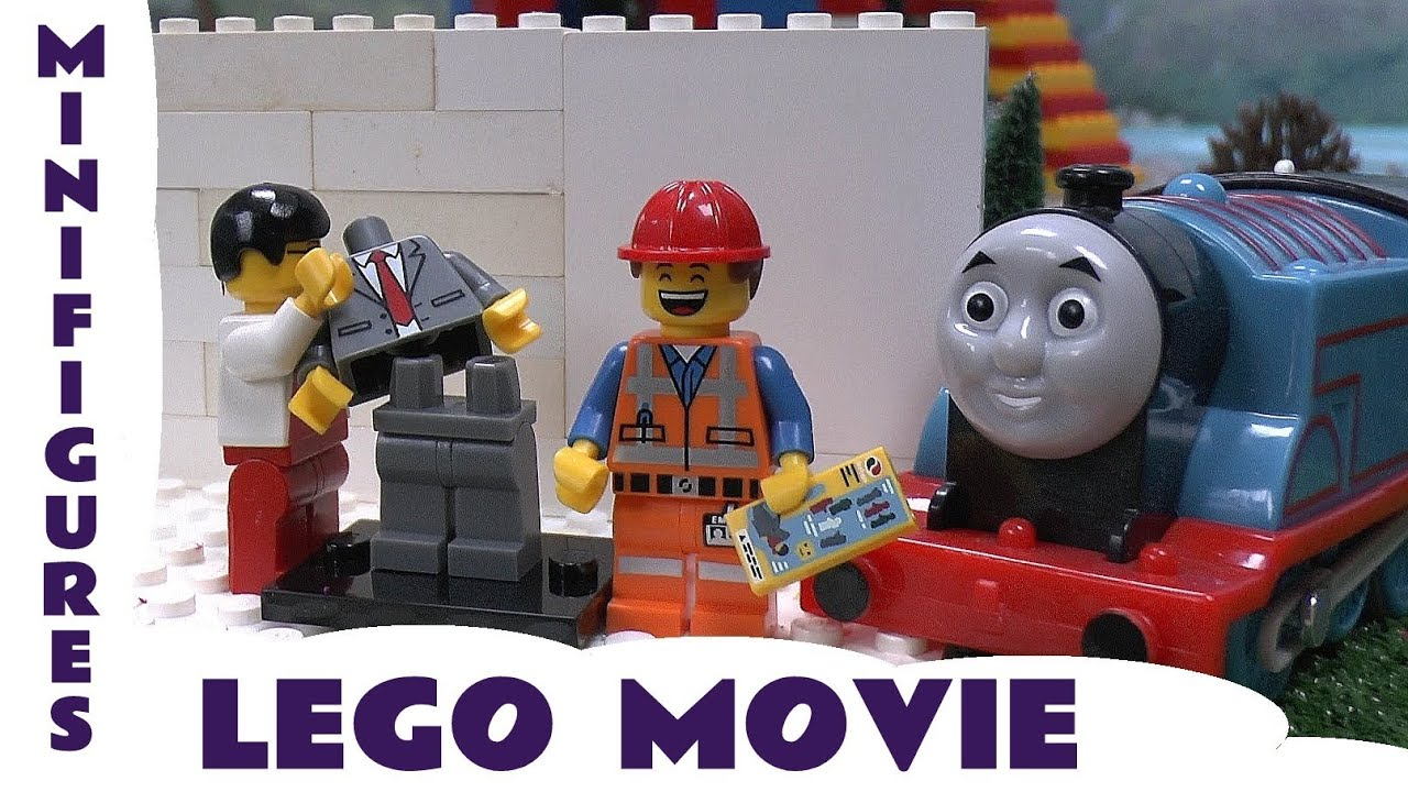 Thomas The Train LEGO MOVIE MINIFIGURES! 5 More Blind Bags ...