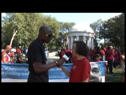 Testimony of Mila Kaufman at the 50th Martin Luther King Anniversary March
