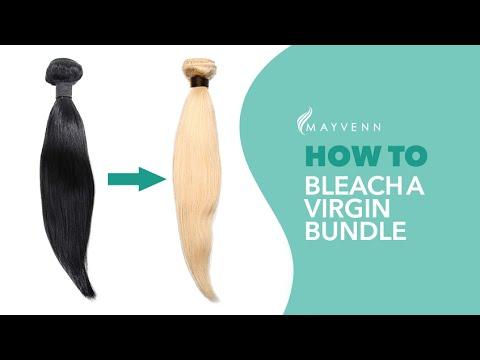 How To Bleach A Virgin Bundle