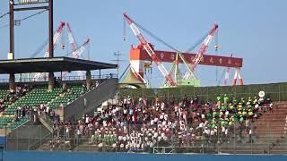 全早慶野球戦西条大会、試合後の両校応援団による校歌演奏・斉唱+エール交換