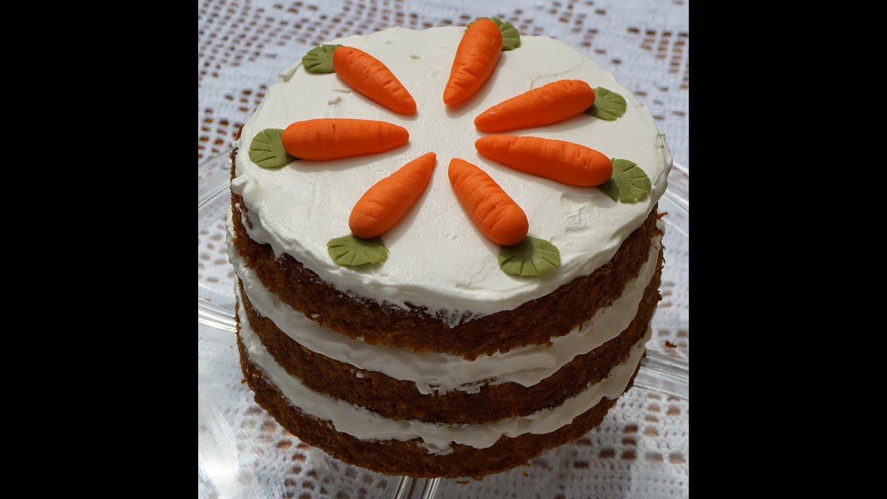 Carrot Naked Cake Tarta De Zanahorias Mabel Mendez Youtube Creo que junto a la receta del brownie, la tarta de zanahoria o carrot cake, es la que más veces habré hecho. carrot naked cake tarta de zanahorias mabel mendez