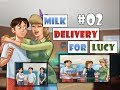 Summertime Saga 0.17 Diane | Milk For Lucy | Delivery Time | Complete Walkthrough | 02