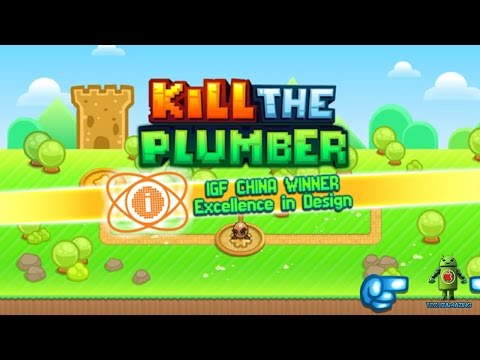 Kill the Plumber World 1 Level 1 - 25 (iOS/Android) Gameplay HD