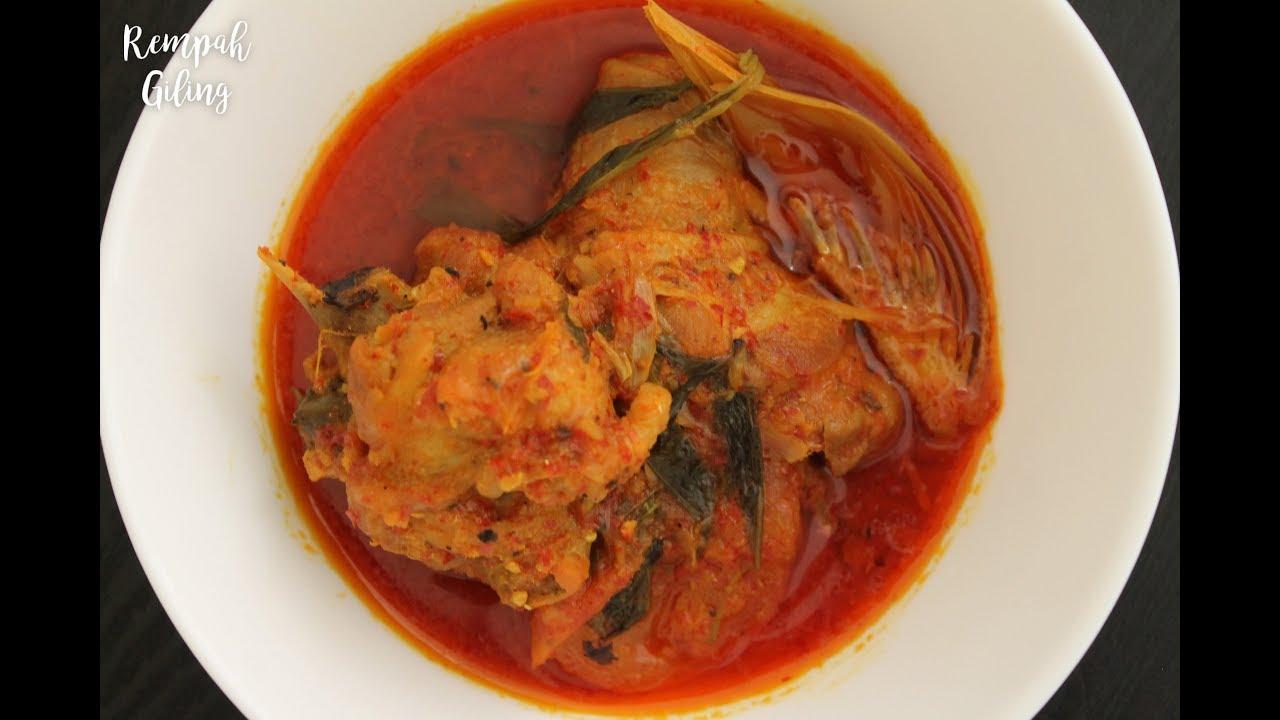 resepi ayam masak asam pedas ringkas  sedap youtube Resepi Nasi Ayam Azlina Ina Enak dan Mudah