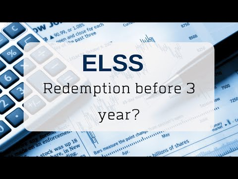 ELSS Withdrawal || Can I Redeem ELSS Fund Before 3 Years