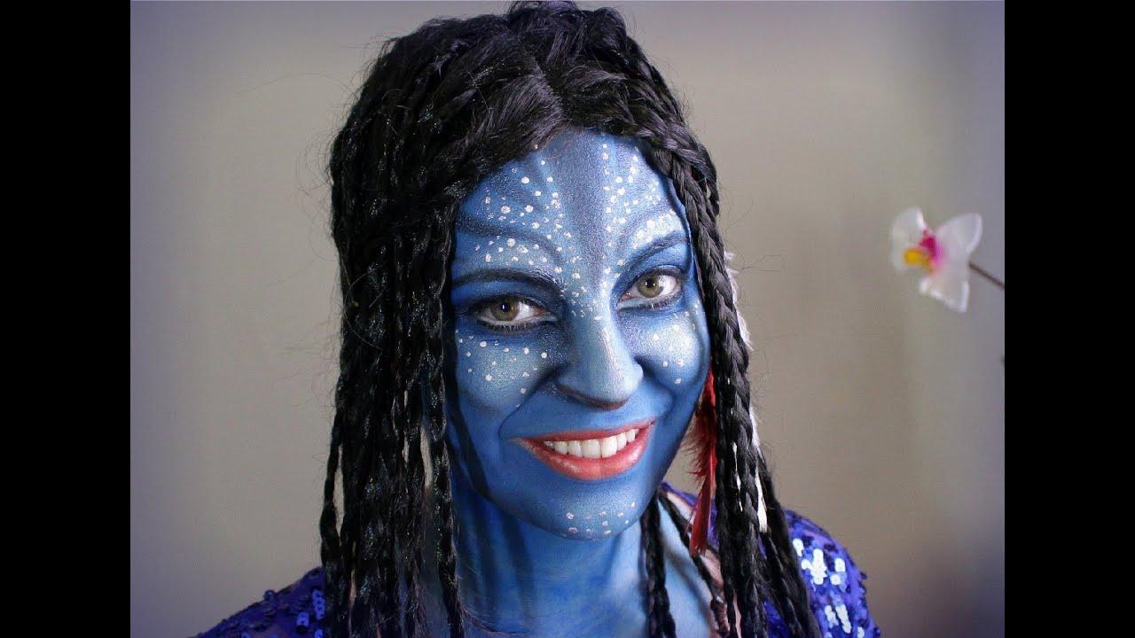 Avatar Maquillaje / Avatar Makeup Halloween