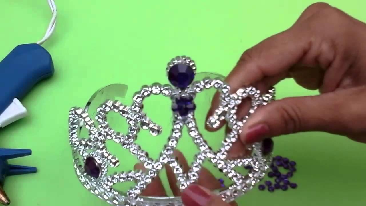 Atractivo Diseños De Uñas Corona De La Princesa Viñeta - Ideas Para ...