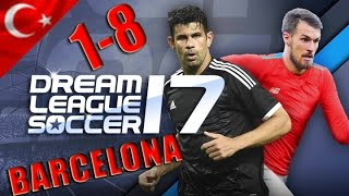Dream League Soccer 2017 Oyun Çok Kolay 2 Küme Bölüm 9 Android Türkçe 1080p