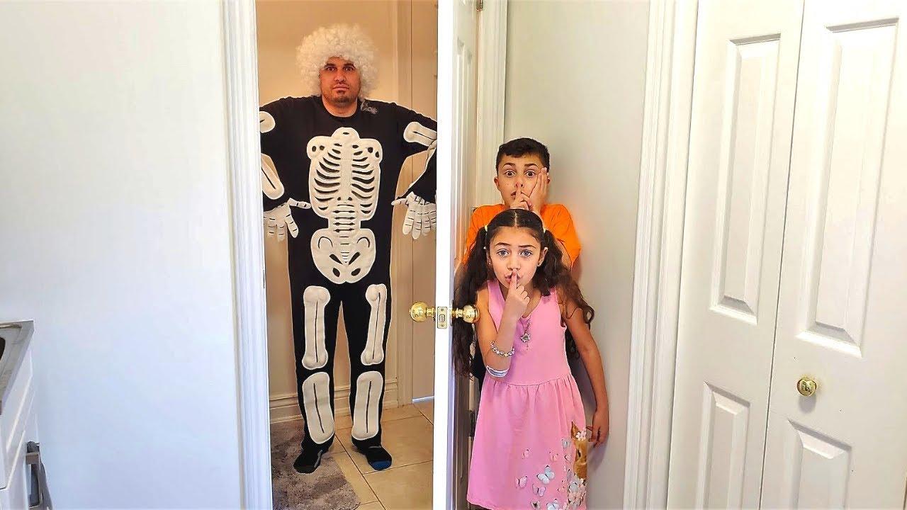 Хайди и Зидан играют с Joke Stories | забавная детская история