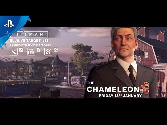 HITMAN - Elusive Targets: The Chameleon Trailer | PS4