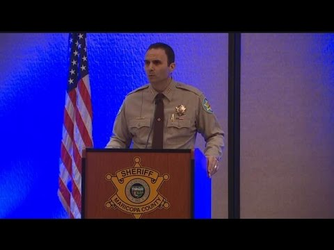 Raw video: Sheriff Penzone remarks on first 100 days in office