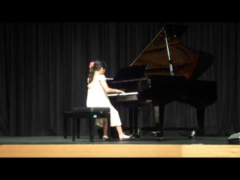 Nina (10yrs) performed ~ Secret 秘密 @ 2011 Piano Concert