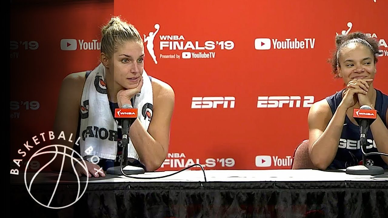 Elena Delle Donne wins her first championship despite three herniated discs in her back