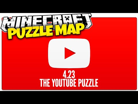 Minecraft | The IMPOSSIBLE YouTube Quiz | 4.23 Puzzle Map (Minecraft Custom Map)