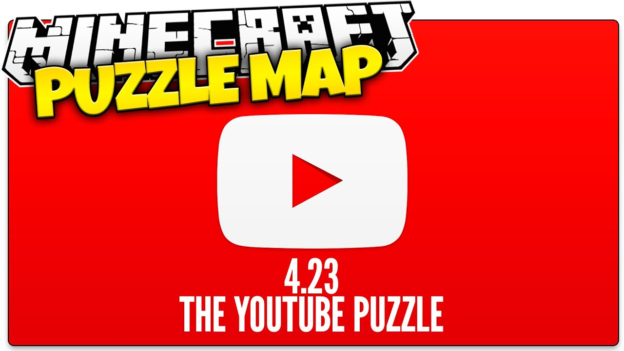 Minecraft | The IMPOSSIBLE YouTube Quiz | 4.23 Puzzle Map (Minecraft Custom  Map)   YouTube