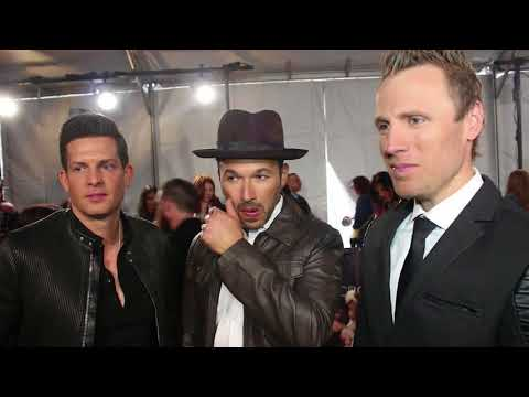 Chat w The Tenors on 2018 Juno Award Nomination in the Red Carpet