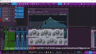 presonus studio one 3 how to eq and compress rap vocals by doublek production