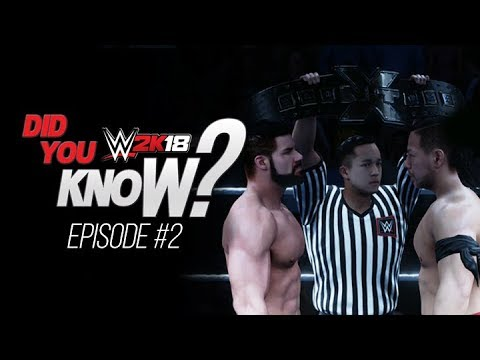 WWE 2K18: Did You Know? (Hidden NXT Title Intros, Carry Finishers, Cutscenes & More)